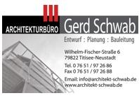 Architekt Gerd Schwab
